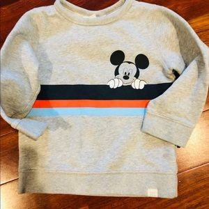 Boys Mickey sweatshirt